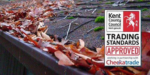 Gutter cleaning in Canterbury, Herne Bay, Whitstable and Sturry